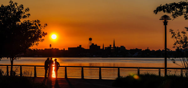 East River Park Sunrise