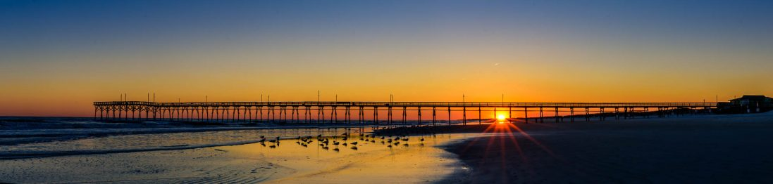 Ocean Island Beach Pier