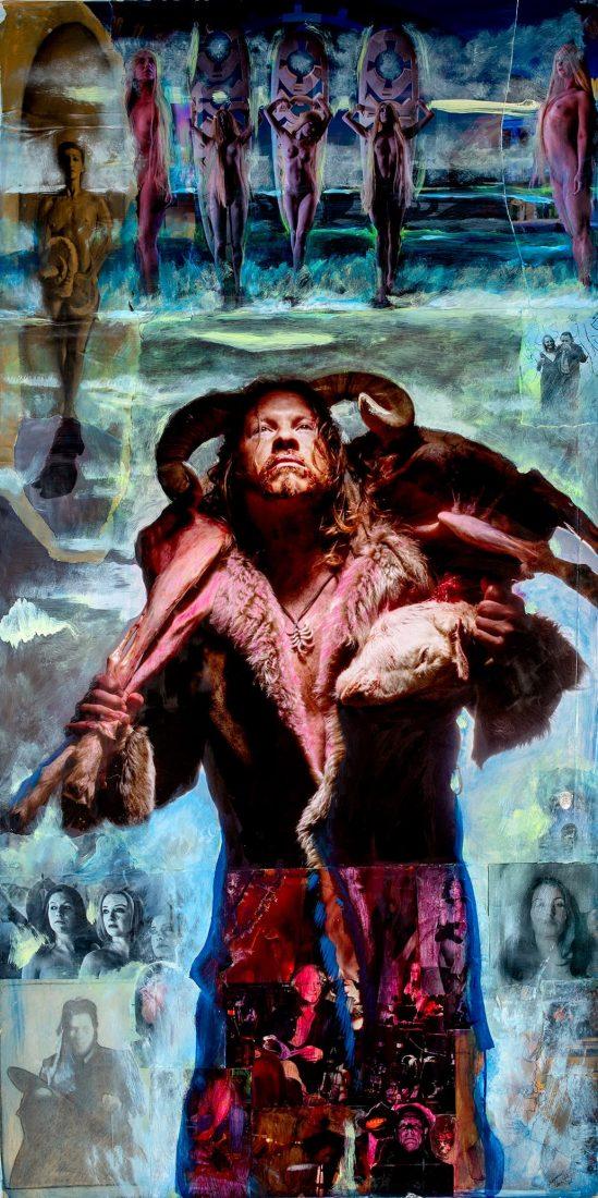 Portrait of the Artist (The Good Shepherd)