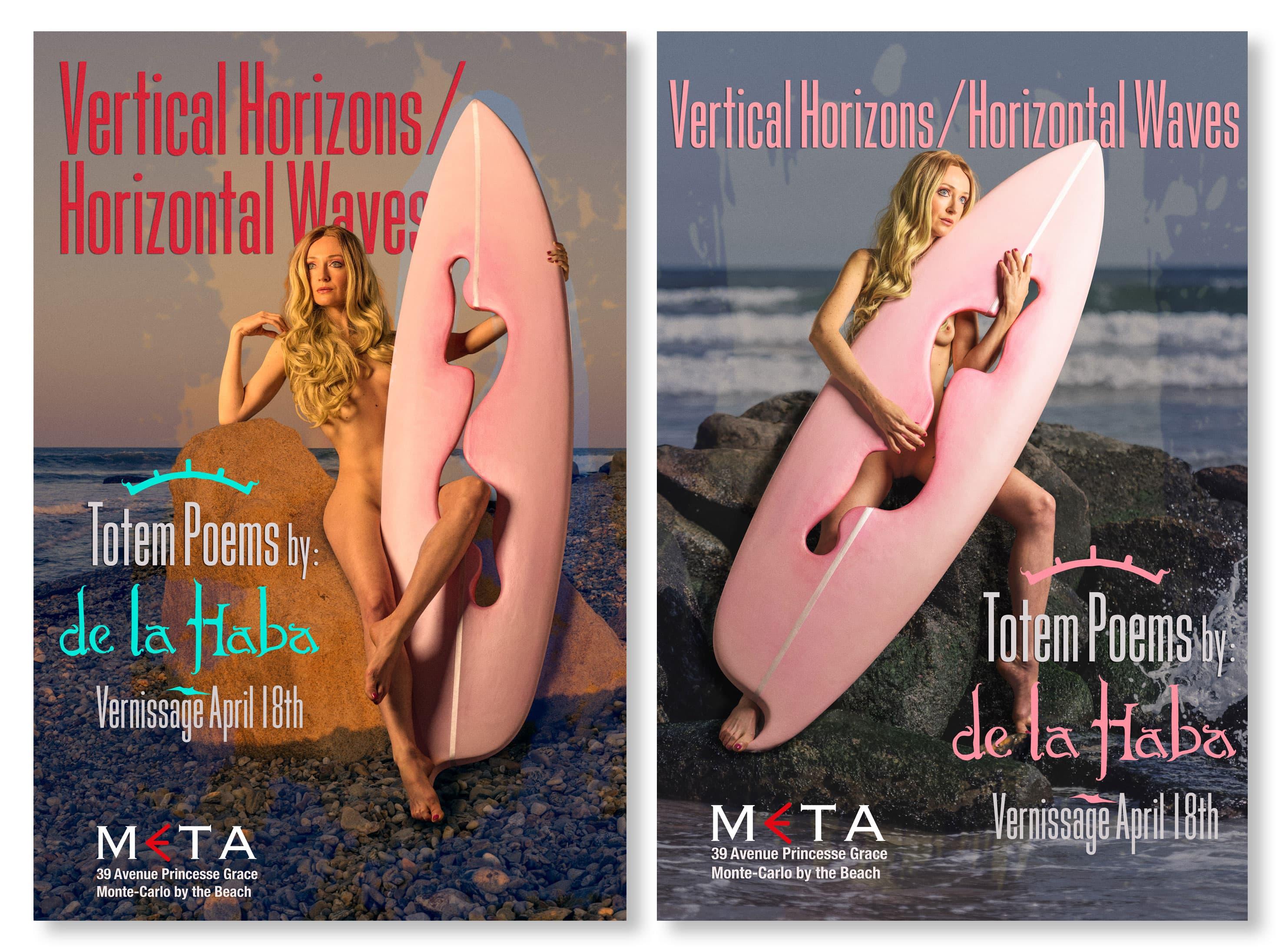 Vertical Horizons/Horizontal Waves Poster
