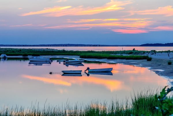 Hampton sunset