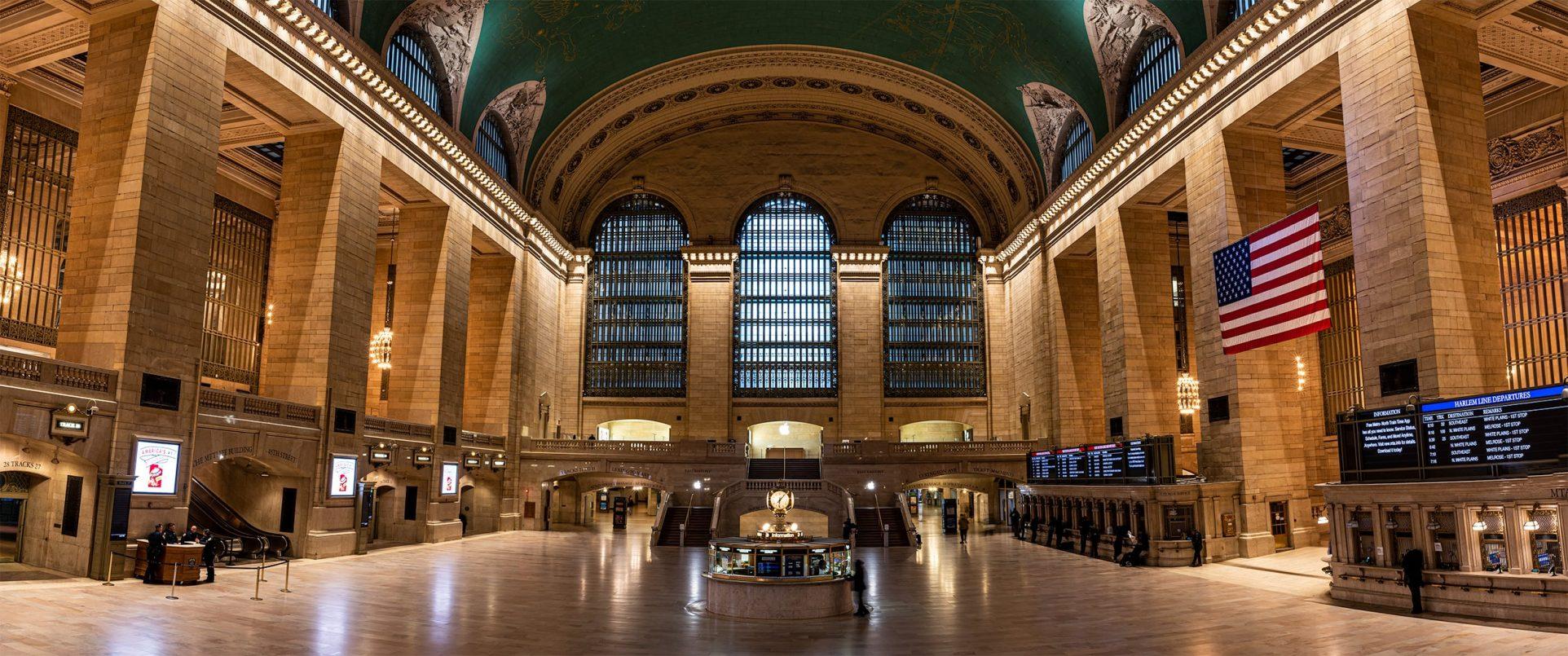Empty Grand Central
