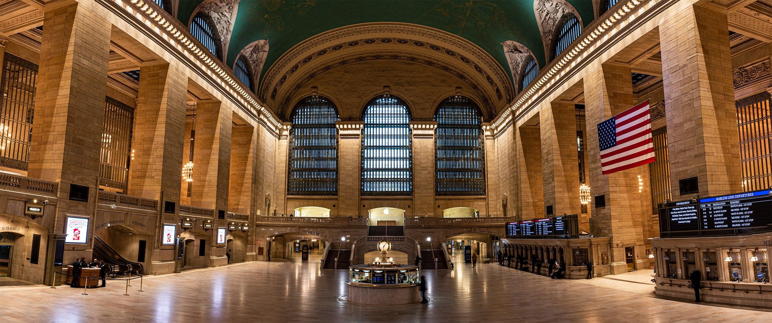 Grand central empty